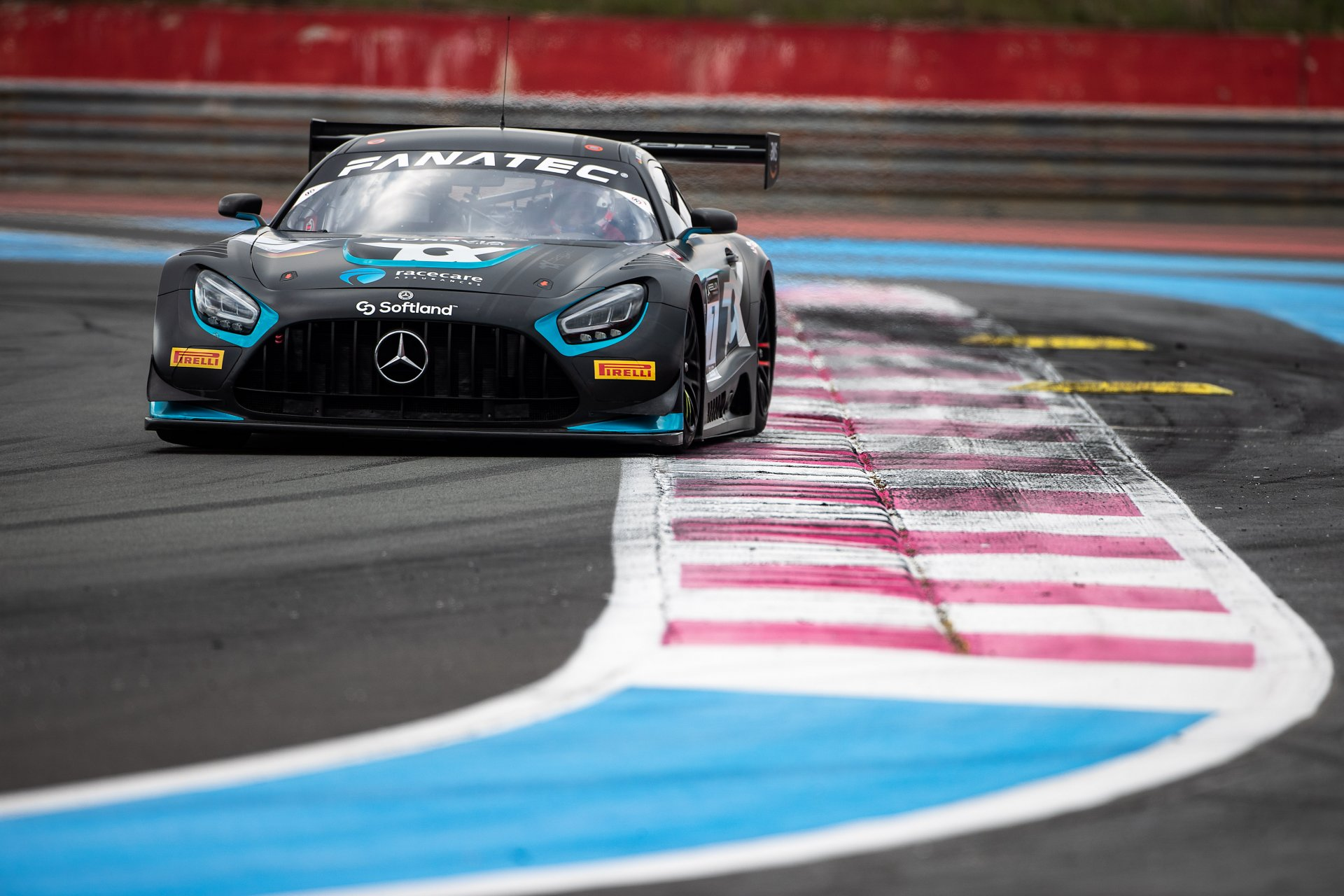 Marvin Dienst startet mit einem Mercedes AMG Evo in der GT World Challenge Europe